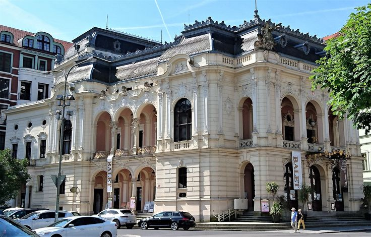 Karlovy Vary (Karlsbad in the old days), Czech Republic, is an architectural heaven!