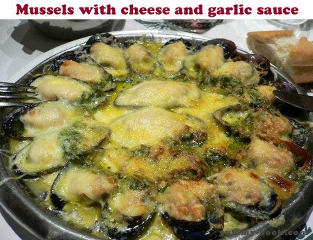 baked mussels recipe with cheese