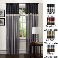 @Overstock - Fun colors and a classy design make these Terra window panels perfect for any room. These curtains feature a top loop design to slide easily onto your curtain rod and a full lining provides extra insulation and privacy.http://www.overstock.com/Home-Garden/Lush-Decor-84-inch-Terra-Curtain-Panel-Pair/5482586/product.html?CID=214117 $36.49