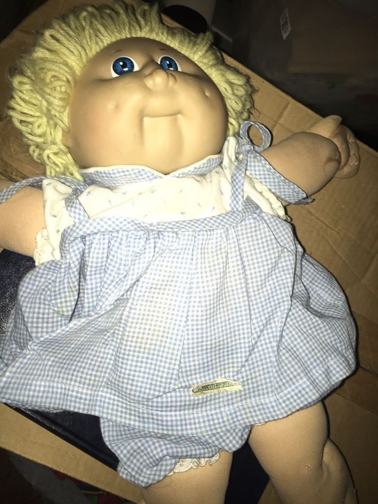 Authentic Cabbage Patch Doll Black signature $5,000.00 ebay