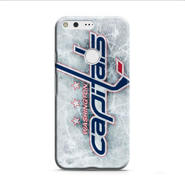 Washington Capitals Ice Logo Google Pixel XL 3D Case