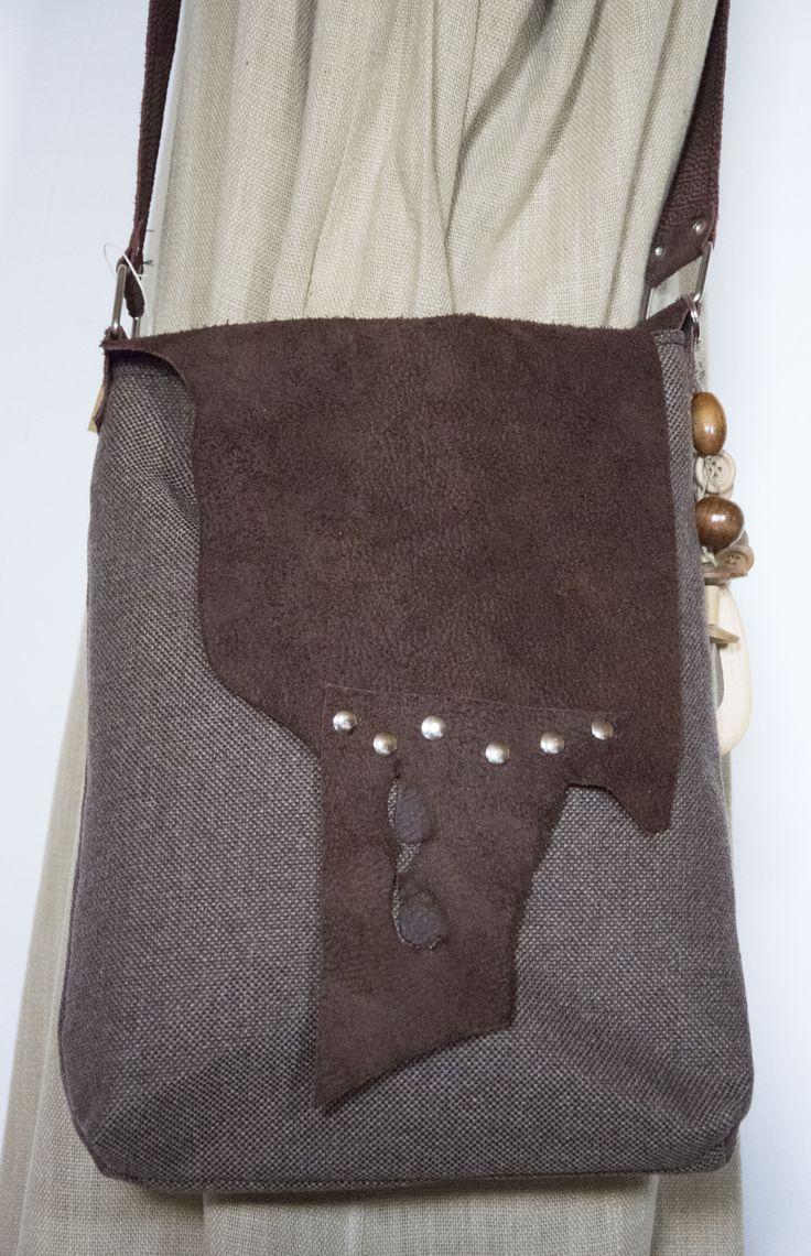 Skrawek Natury - mixed materials bag