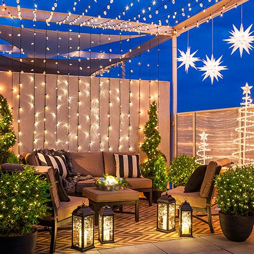 Loweu0027s Creative Ideas. Outdoor ChristmasChristmas LightsChristmas HolidaysChristmas  DecorationsPatio ...