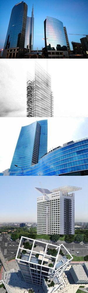 I cinque grattacieli italiani più alti