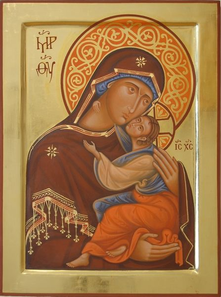 Holy Virgin of Tenderness. 2008