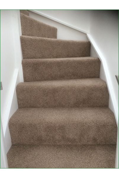 Carpets on stairs give you a warmer feel under foot