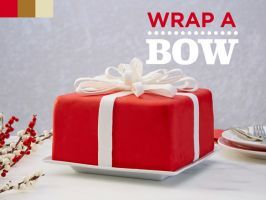 How to Make a Bow with Fondant : Turn your holiday cake into a gorgeous present with this step-by-step guide to creating a fondant bow.