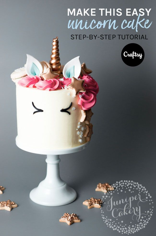 How To Make A Unicorn Cake An Enchantingly Easy Tutorial