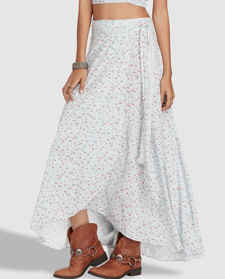 Falda pareo de mujer Denim & Supply Ralph Lauren con estampado floral · Denim & Supply Ralph Lauren · Moda · El Corte Inglés