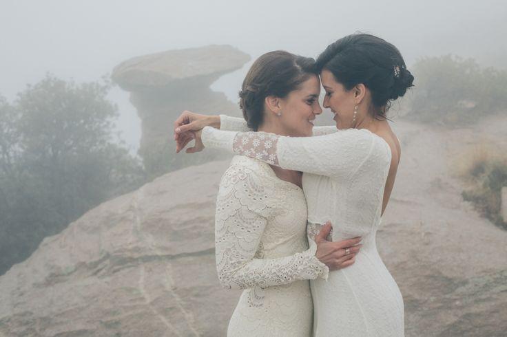 Mountaintop Lesbian Wedding Steph Grant