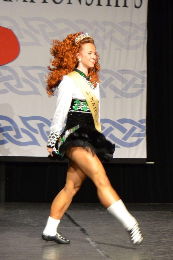 Corinne Gallibois of the Butler Fearon O'Connor School...crazy strong legs