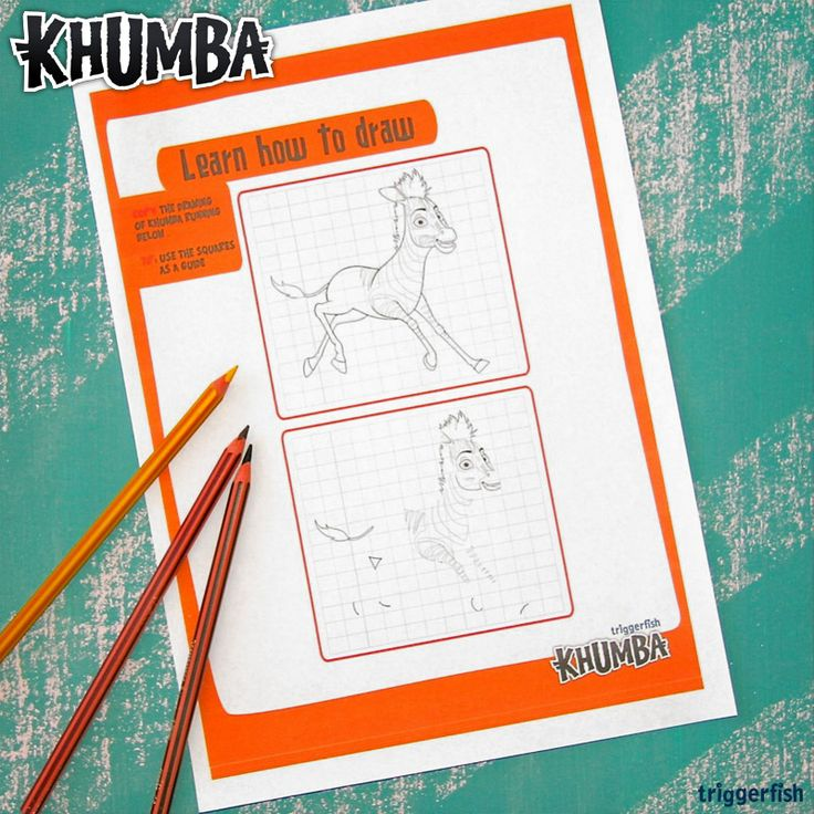 Get creative! Why not learn to draw with Khumba? Our website is jammed with fun games & activities to download. Just visit: www.khumbamovie.com for plenty fun kids stuff to do.  #DelhiSafari #TheCroods #JakeT.Austin #khumba Psst. Only 1 sleep until the DVD Release in Walmart!