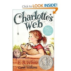 Charlotte's Web--by E. B. White: Childhood Books, Worth Reading, Kids Books, Books Worth, Charlotte Web, Favorite Books, Children Books, Charlotte Web, Charlottesweb