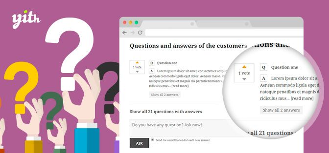 Download YITH WooCommerce Questions and Answers Premium v1.1.24 Download YITH WooCommerce Questions and Answers Premium v1.1.24 Latest Version