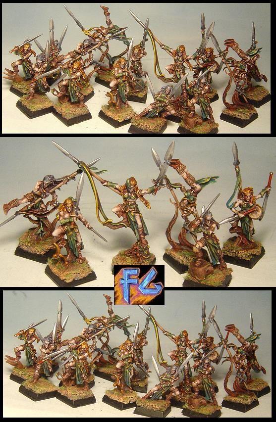 WARHAMMER FREAK FACTORY - elfos silvanos para cruzado17 - FOTOS DE MINIATURAS
