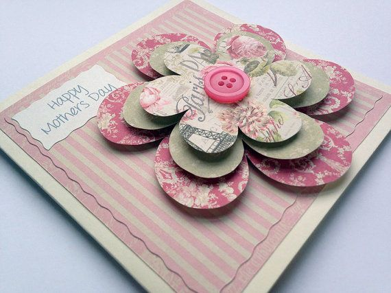 Hey, I found this really awesome Etsy listing at https://www.etsy.com/listing/222730286/mothers-day-card-3d-flower-pretty-flower