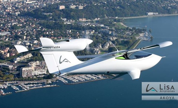 LISA Airplanes AKOYA - Amphibious Light Sport Aircraft - Ready For Action and The Next Generation of  Web-footed Pilots promises to revolutionize