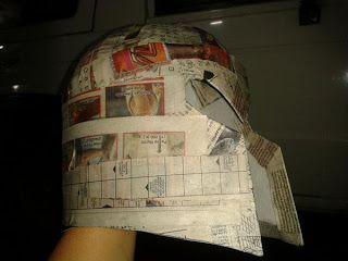 la lógica de mi papá: Manitos Creativas Halloween 2012 Como hacer un casco de Magneto :D