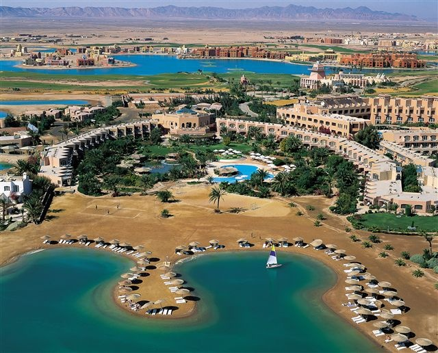 Perfect Red Sea View From Moveinpick El Gouna Resort