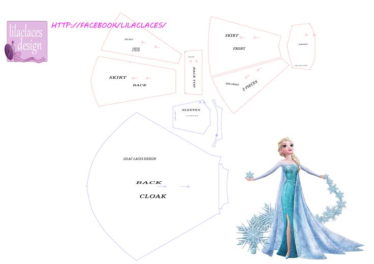 Elsa pattern sewing
