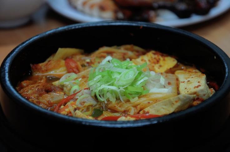 Beef Kimchi Chigae at Bulgogi Korean Food