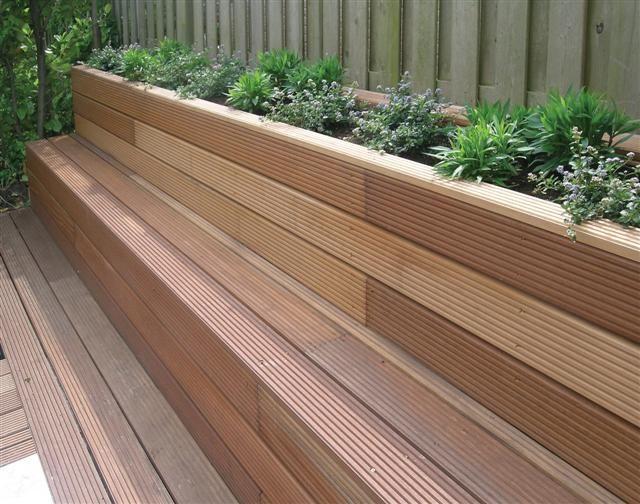 25 beste idee n over stenen bank op pinterest buitenshuise banken tuin banken en draagmuur patio for Tuin decoratie met stenen