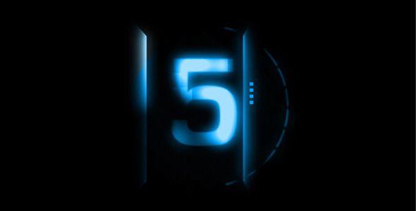 Description : A Sci-Fi Countdown for Futuristic, Action, Science