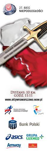 Wyniki 27 Bieg Niepodległości