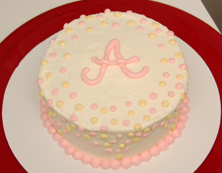 Simple Birthday Cake, gluten free! Made for Allie's b-day