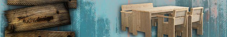 Exclusives Design mal gemütlich! Schon oft wurden wir gefragt, wo man denn unsere schönen Bauholzmöbel / Ausstellungsmöbel kaufen kann, in und auf denen wir unsere Glassteine oder Glasziegel präsentieren. Ganz einfach - bei Fuchs Design!
