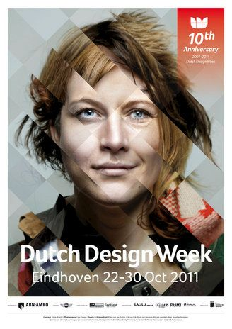 These are so flipping cool! One more Dutch Design Week 10th Anniversary Poster