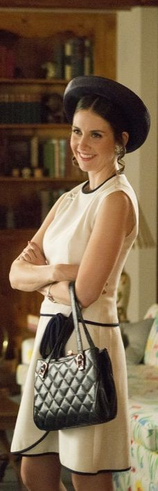 Trudy Campbell is back and as stylish as ever on Mad Men!