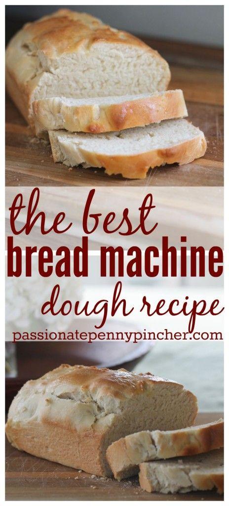 The best bread machine dough recipe (so easy too!)