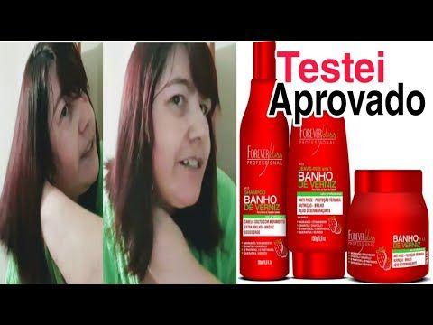 Kit Banho De Verniz Forever Liss Loow Poo Hidratacao Youtube