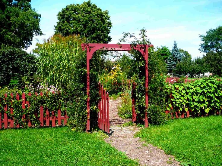 Macauley House Kitchen Garden, Picton Ontario