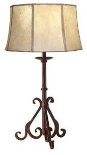 Hacienda Wrought Iron Lamp