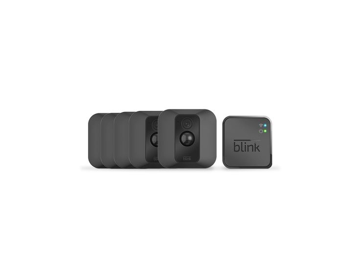 Blink XT Outdoor/Indoor Home Security Camera System for Your Smartphone with Motion Detection, Wall Mount, HD Video, 2 Year Battery and Cloud Storage Included - 5 Camera Kit