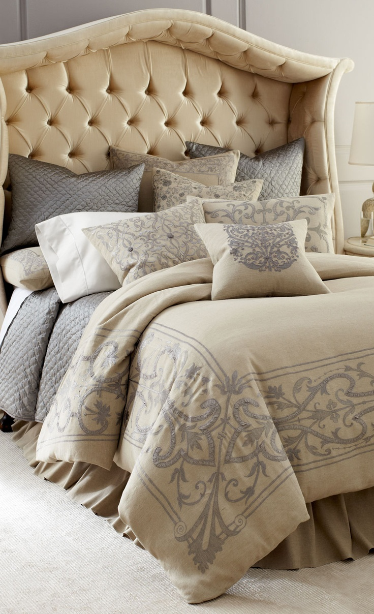 Everyone's Private Jet! www.flightpooling.com Calisto Home Westerly Bed Linens #fashion #travel