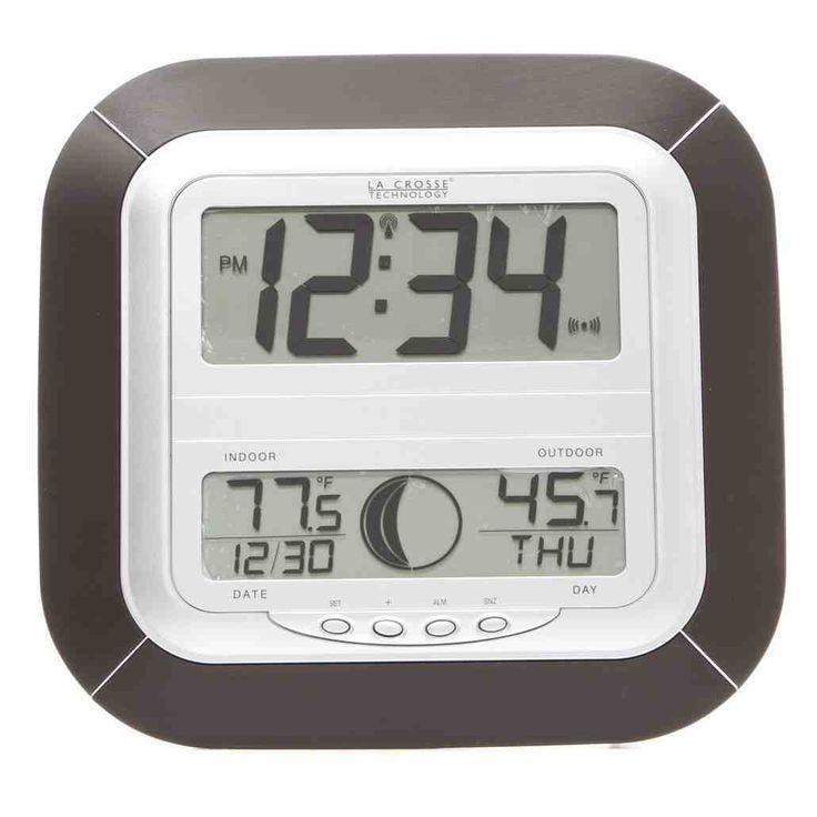 la crosse technology atomic digital wall clock