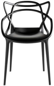 kartell masters chair - black