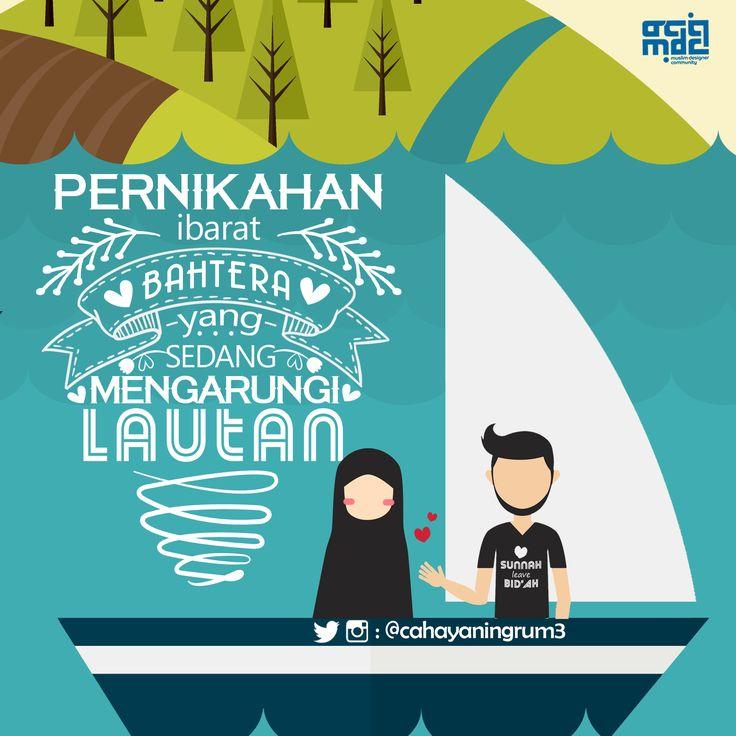 #marriage #pernikahan #family #love #halalcouple #artwork #tipografi #kaligrafina #visualdakwah