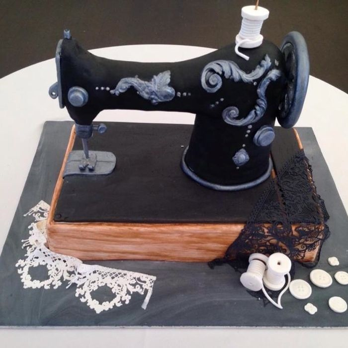 A cake for the 40th Anniversary of ATASDA (Australian Textile & Surface Design Association)