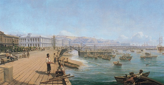 Thomas Somerscales (Bahía de Valparaíso)