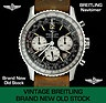 Brand new old stock vintage Breitling Navitimer ref 7806 - NEW VINTAGE 1973. A fabulous chance to acquire one of our rare, brand new, old stock Breitling Navitimers, this being the Breitling model ref # 7806-08 dating back to 1973. See our website at www.itemsofbeauty... - Rolex watches for sale, Breitling watches for sale. ...repinned für Gewinner!  - jetzt gratis Erfolgsratgeber sichern www.ratsucher.de