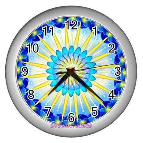Wall clock Sunshine http://www.artravesupercenter.com/droomcreaties/?SectionCode=@Erin Whatley Lockerman