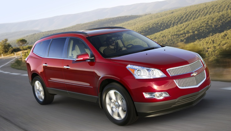 Chevrolet Traverse | Standard Elite SUV | Avis Fleet ...