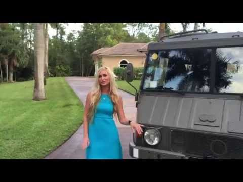 1976 Steyr Puch Pinzgauer 712K Test Drive for Sale by Autohaus of Naples - YouTube