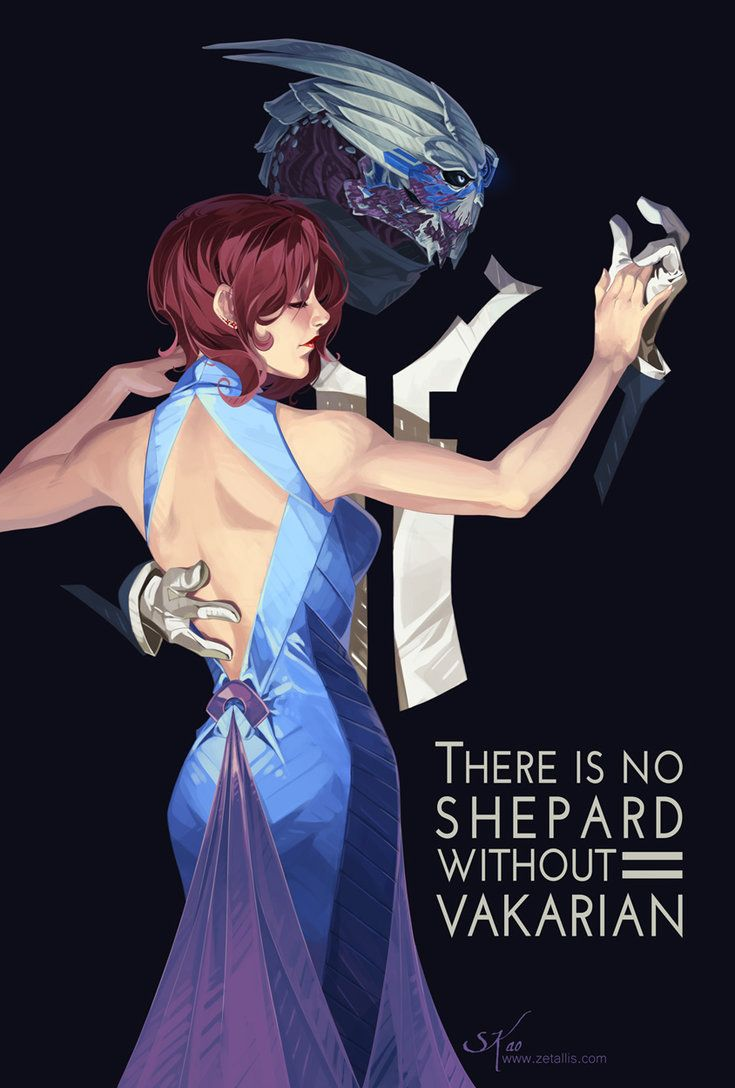 There is No Shepard Without Vakarian by zetallis.deviantart.com on @DeviantArt