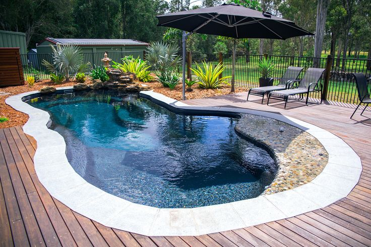 Narellan pools rockpool swimming pools fibreglass pools - Above ground fibreglass swimming pools ...