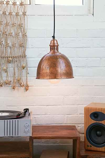 Cupola Copper Pendant Light - Urban Outfitters